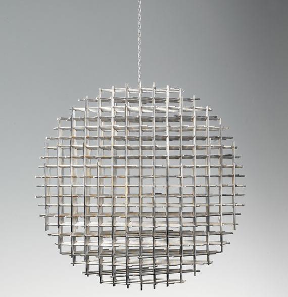 FRANCOIS MORELLET - Sphere-Trame, 1962