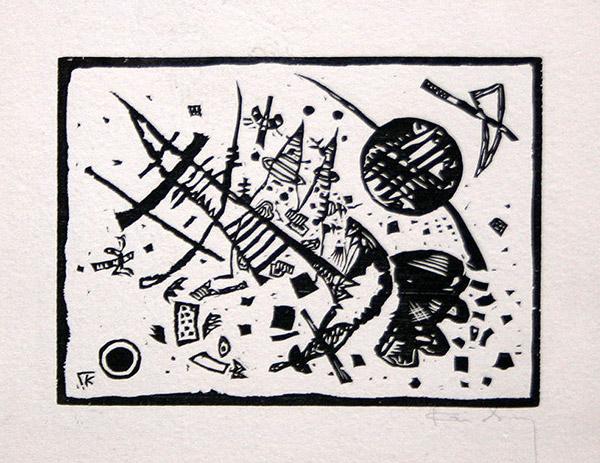 WASSILY KANDINSKY - Holzschnitt für die Ganymed-Mappe (from Der Dritten Ganymed-Mappe)