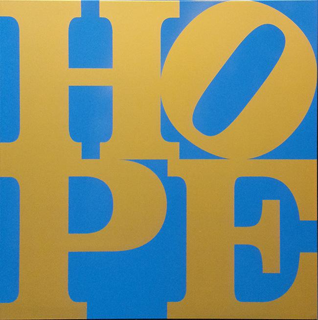 ROBERT INDIANA - HOPE (B/G)