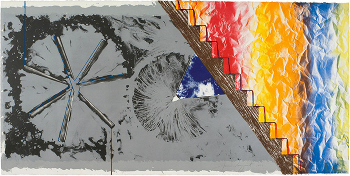 JAMES ROSENQUIST - DERRIERE L'ETOILE