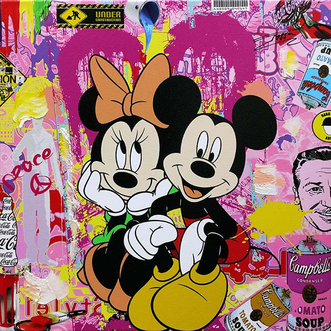 JOZZA JOZZA - MICKEY & MINNIE 1