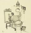 NORMAN ROCKWELL - TRIPLE SELF PORTRAIT