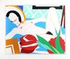 TOM WESSELMANN - MONICA NUDE WITH TULIPS