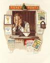 NORMAN ROCKWELL - TICKET SELLER