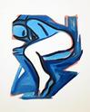 WESSELMANN, TOM - BLUE NUDE # 3