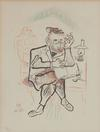 WILLIAM GROPPER - UNTITLED (16) FROM SHTETL PORTFOLIO