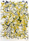 MARIO CHUY - ABSTRACT (BLACK AND YELLOW)