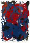 MARIO CHUY - ABSTRACT (RED AND BLUE)