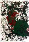 MARIO CHUY - ABSTRACT (BLACK RED GREEN)