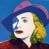 WARHOL, ANDY - INGRID BERGMAN WITH HAT FS II.194
