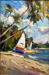 IGOR KOROTASH - SAILING FROM THE BEACH