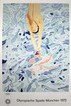 DAVID HOCKNEY - Diver , Olympic Games Munic 1972