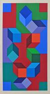 VICTOR VASARELY - COMPOSITION