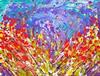 MANJIRI KANVINDE - Poppies Meadow Abstract Painting
