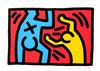 HARING, KEITH - UNTITLED (D)