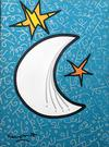 ROMERO BRITTO - OVER THE MOON