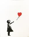 BANKSY  - GIRL WITH BALLOON