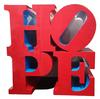 ROBERT INDIANA - HOPE (RED/BLUE/RED)