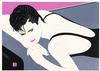 PATRICK NAGEL - PORTRAIT OF A WOMAN