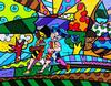 ROMERO BRITTO - UNTITLED (RUNNERS)