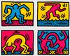 KEITH HARING - POP SHOP QUAD II