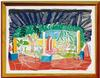 DAVID HOCKNEY - VIEWS OF HOTEL WELL I