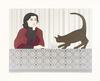 WILL BARNET - MEDITATION AND MINOU