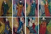 MIKULAS KRAVJANSKY - THE EIGHT IMMORTALS (SET OF 8)