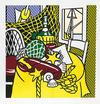 ROY  LICHTENSTEIN - STILL LIFE WITH LOBSTER