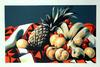 LOWELL NESBITT - FRUITS ON RUG II