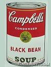 WARHOL, ANDY - CAMPBELLS SOUP: BLACK BEAN SUNDAY B. MORNING