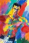 LEROY NEIMAN - MUHAMMAD ALI-ATHLETE OF THE CENTURY