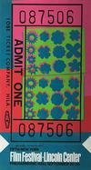 WARHOL, ANDY - LINCOLN CENTER TICKET