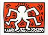 KEITH HARING - DOUBLE MAN